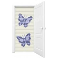 Vliegengordijn vlinders