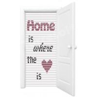 Vliegengordijn home is where the heart is