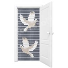 Vliegengordijn duiven (K&K)