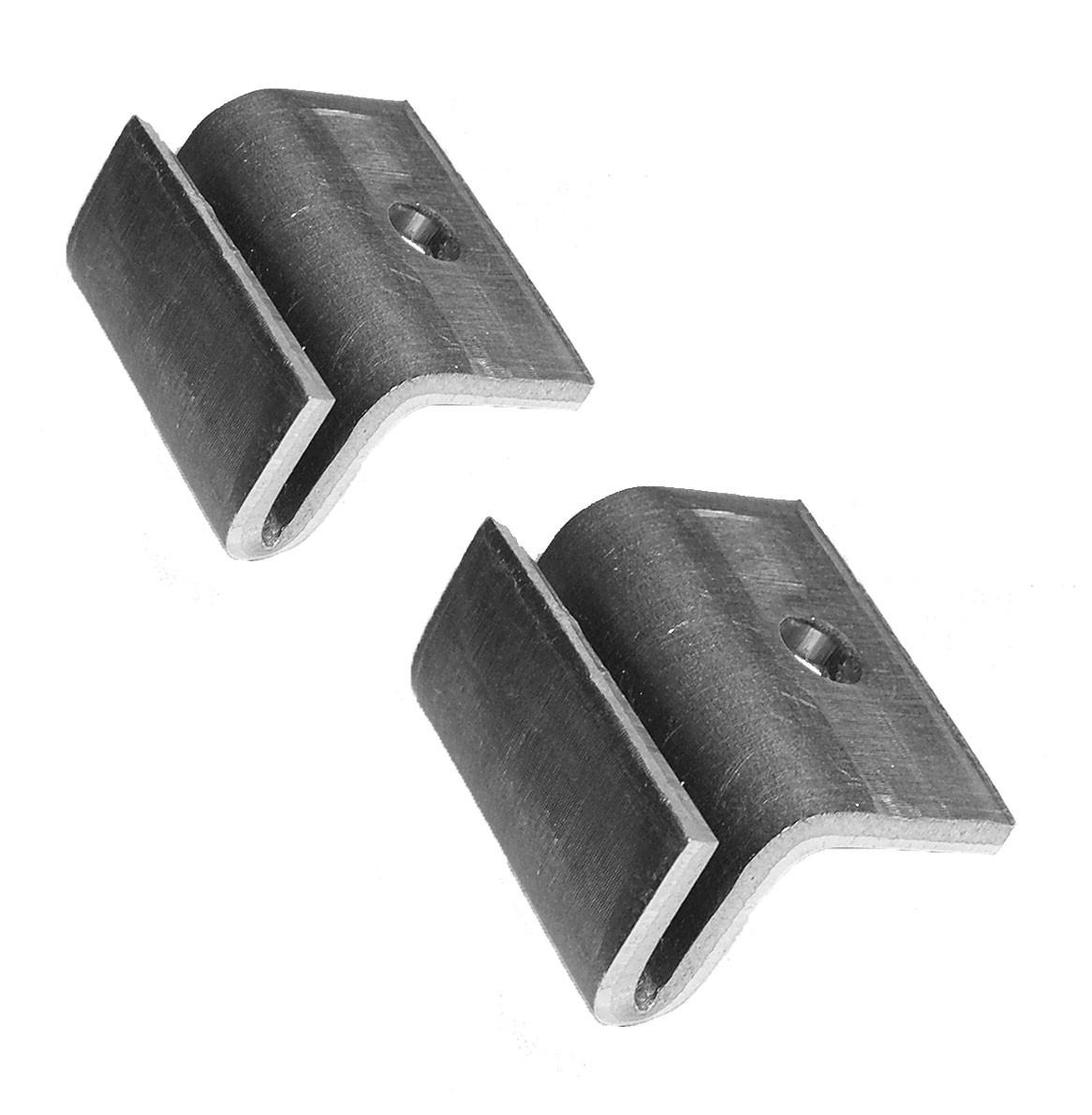 Torresol Fliegenvorhänge Aluminium Montagehilfen (Set mit 2 Stück ...