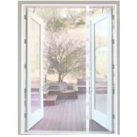Magneetgordijn Wit (dubbele deur)