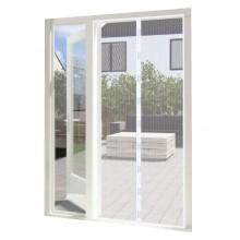 Magneetgordijn wit (enkele deur)